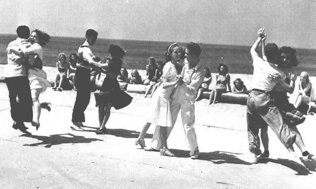 Venice Beach Swing Dance 1938
