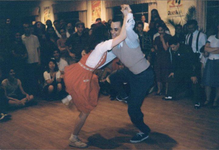 Peter Loggins & Lisa Ferguson at Camp Hollywood
