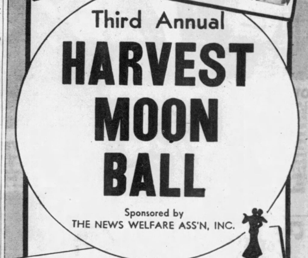 Harvest Moon Ball 1937